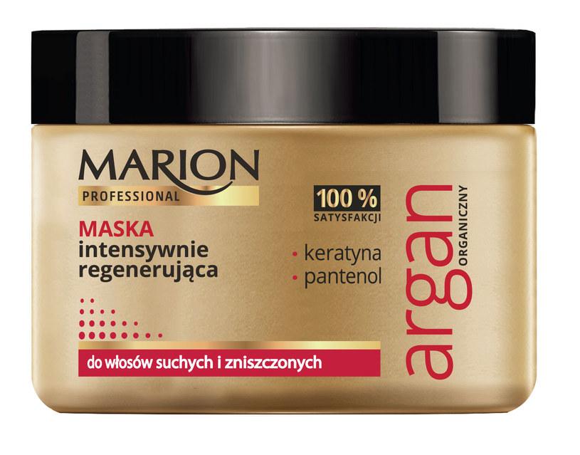 Maska intensywnie regenerująca Marion /materiały prasowe