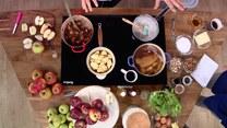 Masło, zupa i frytki. Jabłka w kuchni