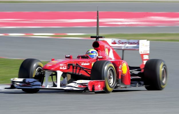 Massa podczas testów /AFP