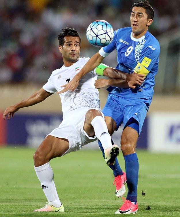 Masud Szodża'i Solejmani (z lewej) /Armin M. Jamali /Getty Images