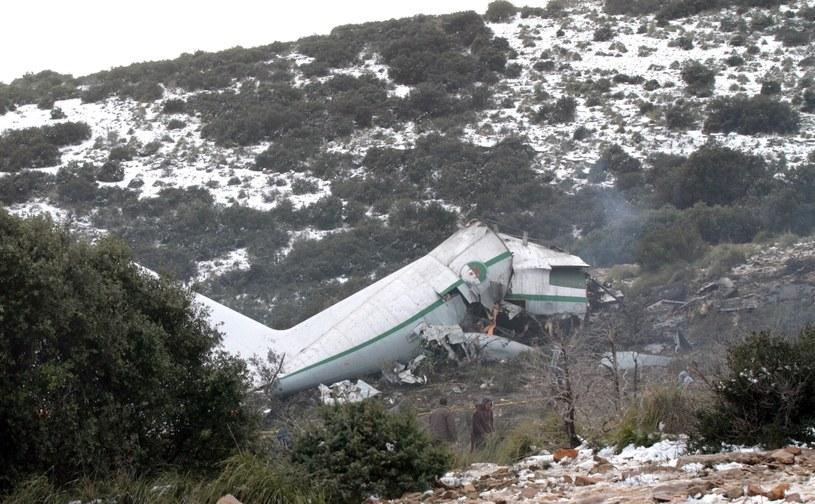 Maszyna leciała z miasta Tamanrasset na południu Algierii do Konstantyny. /PAP/EPA