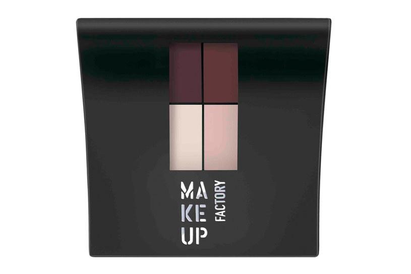Mat Eye Colors - matowe cienie poczwórne /materiały prasowe