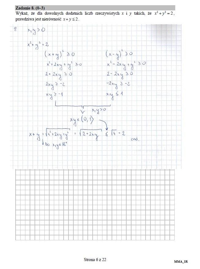 Matematyka, poziom rozszerzony - matura 2016 /INTERIA.PL