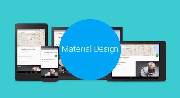 Material Desing - nowy interfejs i styl urządzeń z Androidem oraz Chrome OS /materiały prasowe
