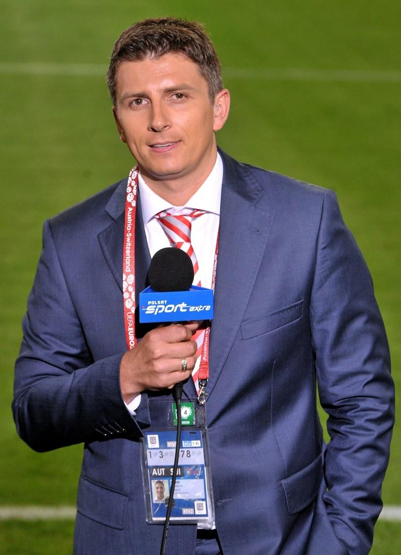 Mateusz Borek w Klagenfurcie podczas Euro 2008 /Piotr Fotek /Reporter