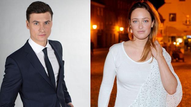 Mateusz Damięcki i Matylda Damięcka: Jak ogień i woda? /Agencja W. Impact