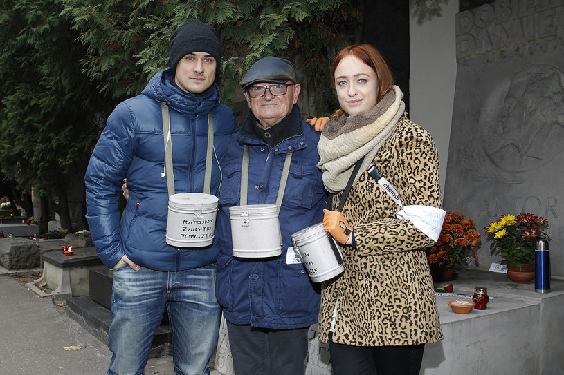 Mateusz Damięcki, Maciej Damięcki i Matylda Damięcka /AKPA