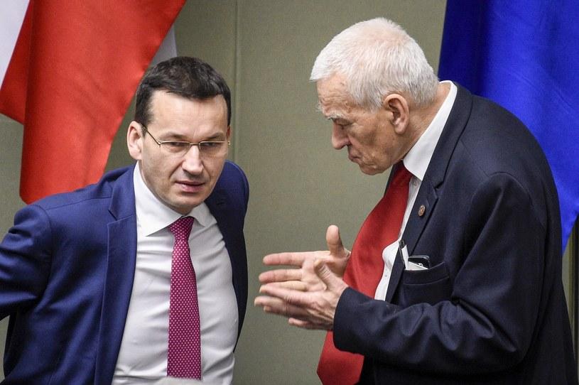 Mateusz i Kornel Morawieccy /Jacek Domiński /Reporter