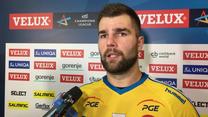 Mateusz Kus po meczu z THW Kiel (32-21). Wideo
