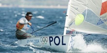 Mateusz Kusznierewicz podczas igrzysk w Atenach w 2004 roku /Getty Images/Flash Press Media