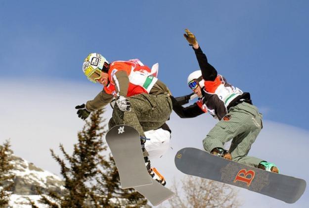 Mateusz Ligocki (z lewej) /AFP