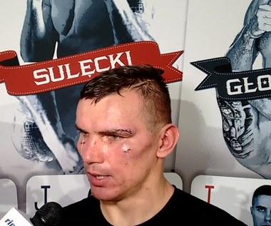 Mateusz Masternak - zwycięzca szóstej walki gali Polsat Boxing Night. WIDEO