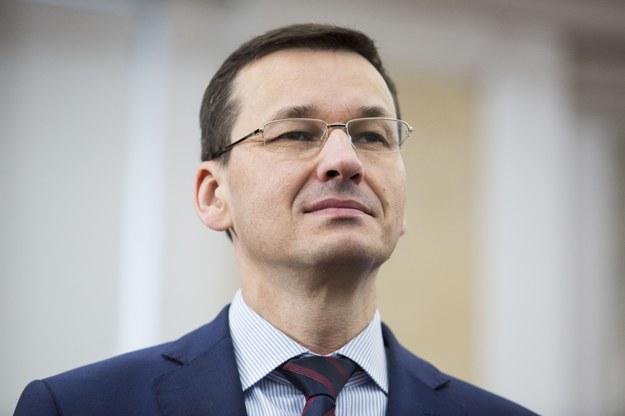Mateusz Morawiecki będzie wyznaczał trendy światowej gospodarki? /Andrzej Hulimka  /Reporter