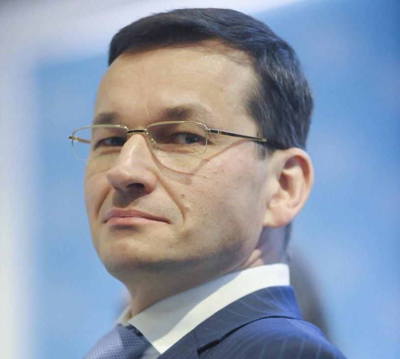 Mateusz Morawiecki, przyszły minister rozwoju /Wojciech Stróżyk /Reporter
