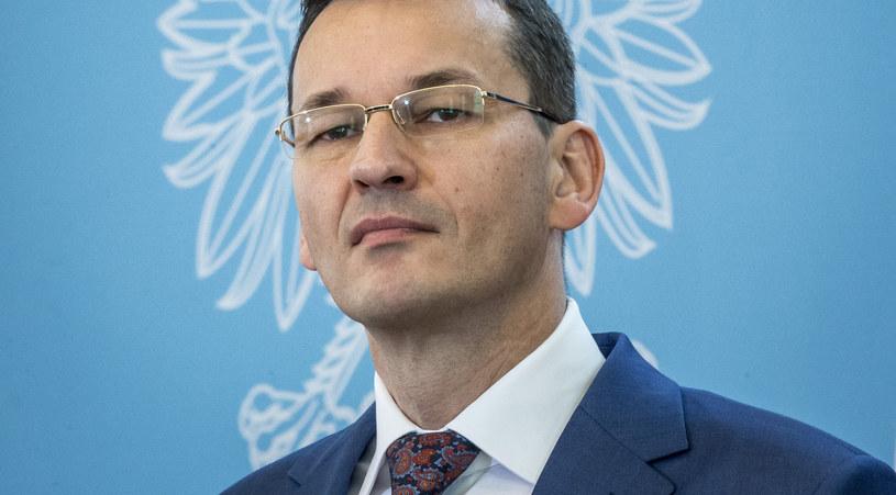 Mateusz Morawiecki - wicepremier, minister finansów, minister rozwoju, szef KERM /Jacek Domiński /Reporter
