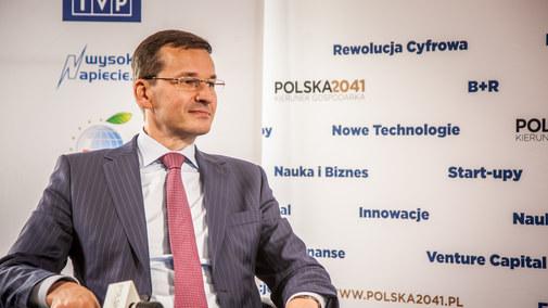 Mateusz Morawiecki, wicepremier, minister rozwoju i finansów gościem specjalnym Interii