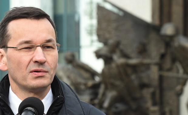 Mateusz Morawiecki zabrał głos ws. zakazu handlu w niedzielę