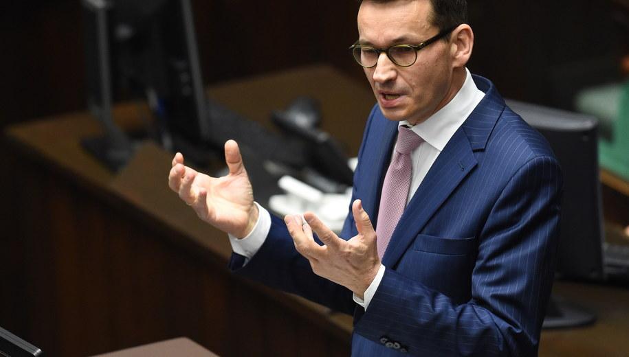 Mateusz Morawiecki /Radek Pietruszka /PAP