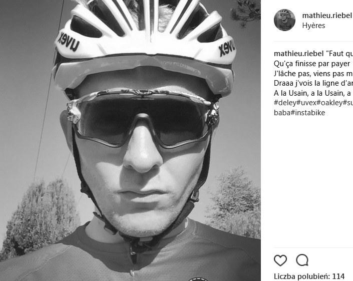 Mathieu Riebel; źródło: Instagram /