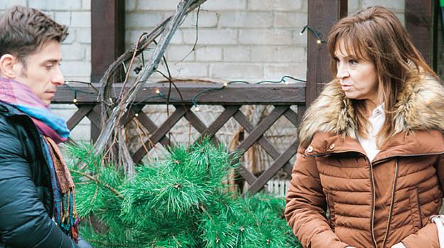 Matka Darka zdecyduje się przekupić Mostowiaków, by Natalka nie ścigała go o ojcostwo. Jak zareaguje na to Marek? /Świat Seriali