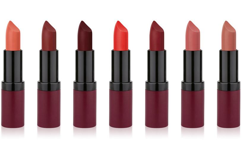 Matowa pomadka do ust Velvet Matte Lipstick, Golden Rose /materiały prasowe