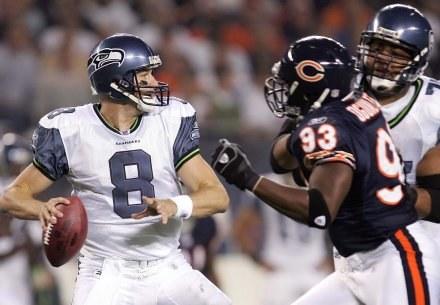 Matt Hasselbeck nie pograł przeciwko defensywie Bears /AFP
