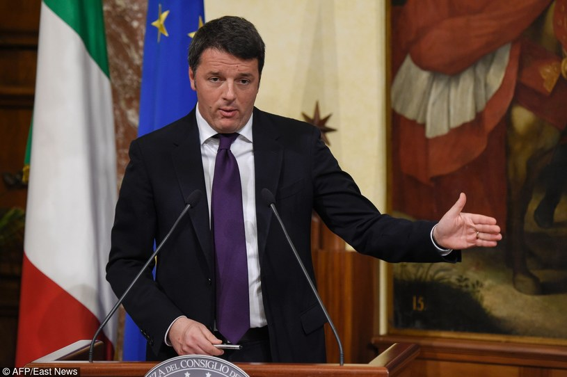 Matteo Renzi /ANDREAS SOLARO/AFP /East News