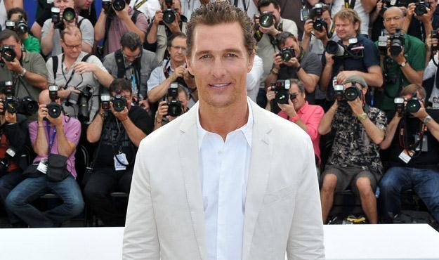 Matthew McConaughey na festiwalu w Cannes, fot. Andreas Rentz /Getty Images/Flash Press Media
