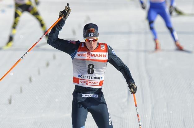 Matti Heikkinen na mecie /AFP