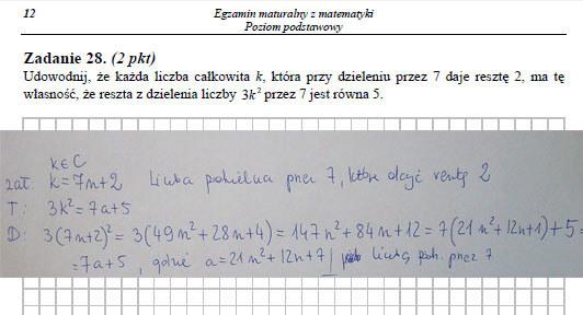 Matura 2014: Matematyka - arkusz i odpowiedzi /INTERIA.PL