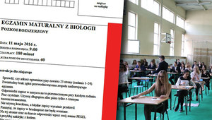 Matura 2016: Biologia, poziom rozszerzony. Arkusze CKE i odpowiedzi