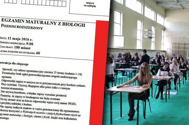 Matura 2016: Biologia, zdj. ilustracyjne /INTERIA.PL