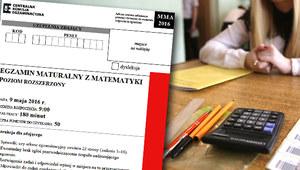 Matura 2016: Matematyka, poziom rozszerzony. Arkusz i odpowiedzi!