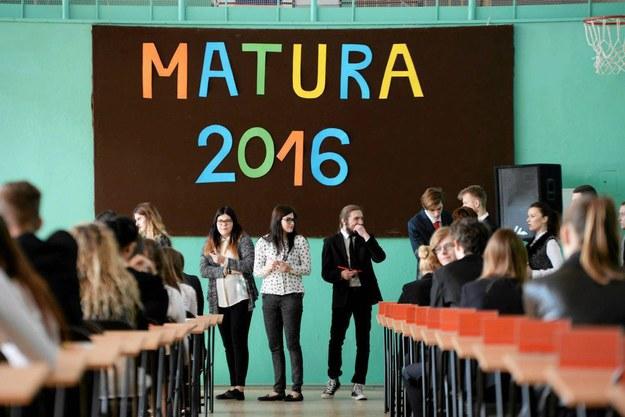 Matura 2016, Olsztyn /Robert Robaszewski /