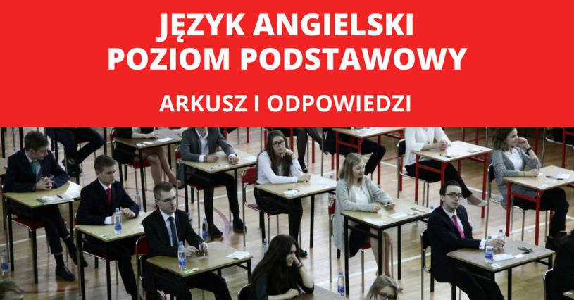 Matura 2017: Zakończył się egzamin z języka angielskiego na poziomie podstawowym /FOT. GRZEGORZ GALASINSKI/DZIENNIK LODZKI/POLSKA PRESS/Oprac. graf. INTERIA.PL /East News