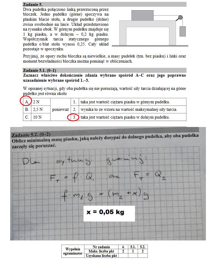 Matura 2018. Fizyka /INTERIA.PL