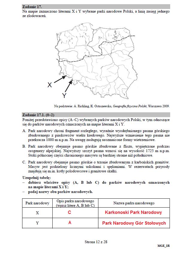 Matura 2018. Geografia - poziom rozszerzony /Interia.pl /