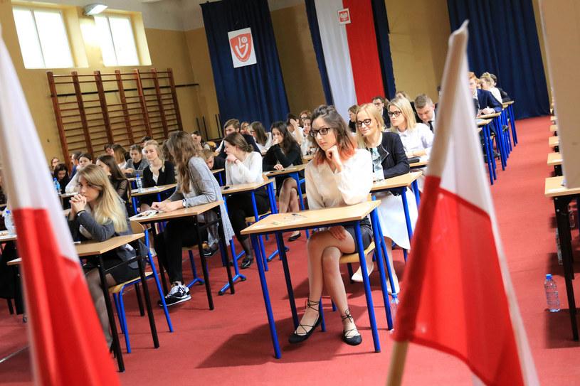 Matura z języka polskiego; zdj. ilustracyjne /Sławomir Kowalski /East News