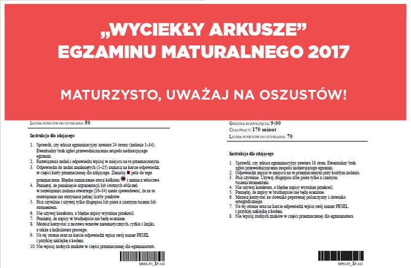 Matury 2017 rozpoczynają się już w czwartek /INTERIA.PL