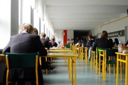 Maturzyści zdawali dziś egzamin z języka polskiego fot. D. Lewandowski /Agencja SE/East News