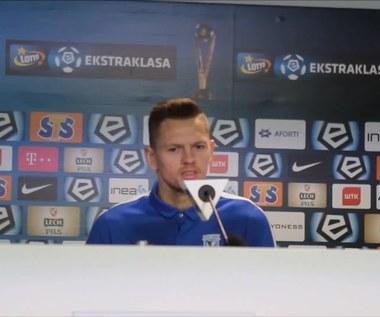 Matusz Putnocky przed meczem z Arką Gdynia. Wideo