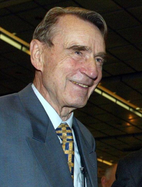 Mauno Koivisto w 2002 roku /AFP