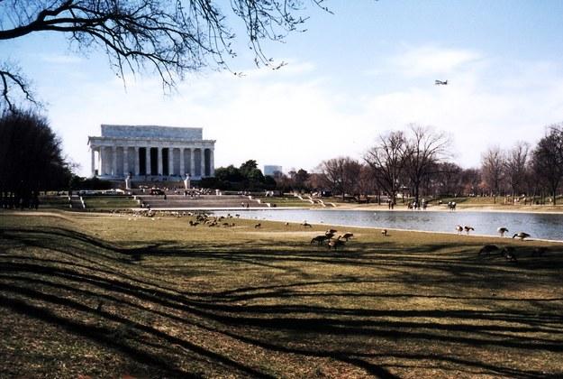 Mauzoleum Abrahama Lincolna w Waszyngtonie /123/RF PICSEL