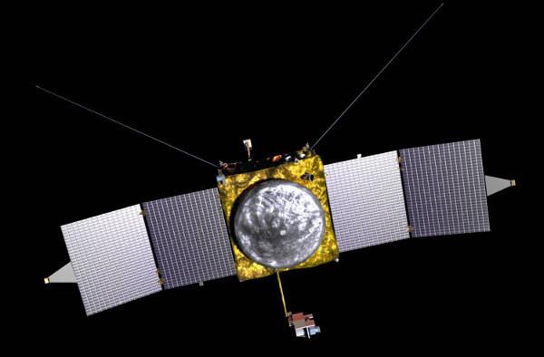 MAVEN dotrze do Marsa 22 września 2014 roku /NASA