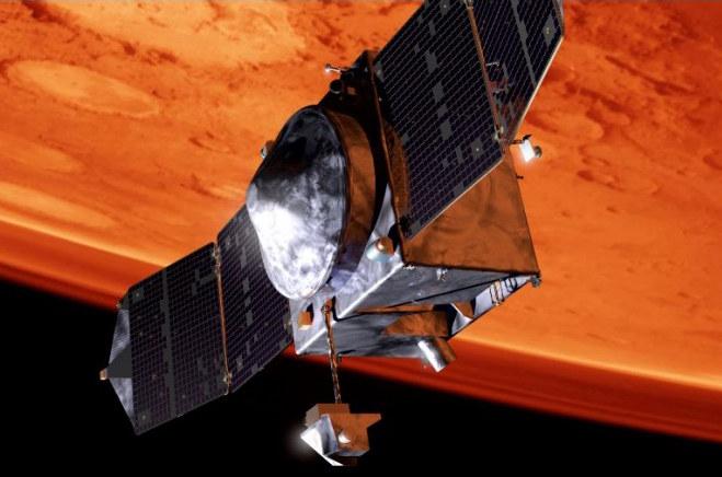 MAVEN znajduje się obecnie ok. 4,65 miliona kilometrów od Ziemi /materiały prasowe