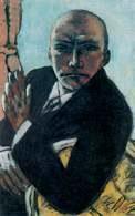 Max Beckmann, Autoportret, 1944 /Encyklopedia Internautica