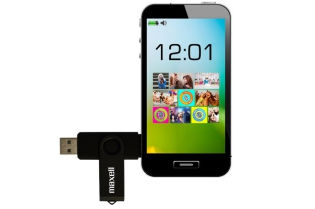 Maxell Dual USB /materiały prasowe