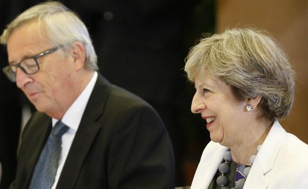 May błagała szefa KE o pomoc? Downing Street nie zaprzecza