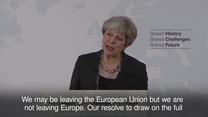 May we Florencji: Opuszczamy Unię Europejską, ale nie opuszczamy Europy