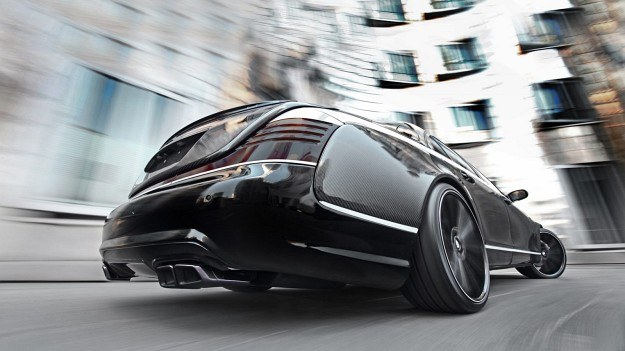 Maybach 57S po tuningu Knight Luxury /Knight Luxury